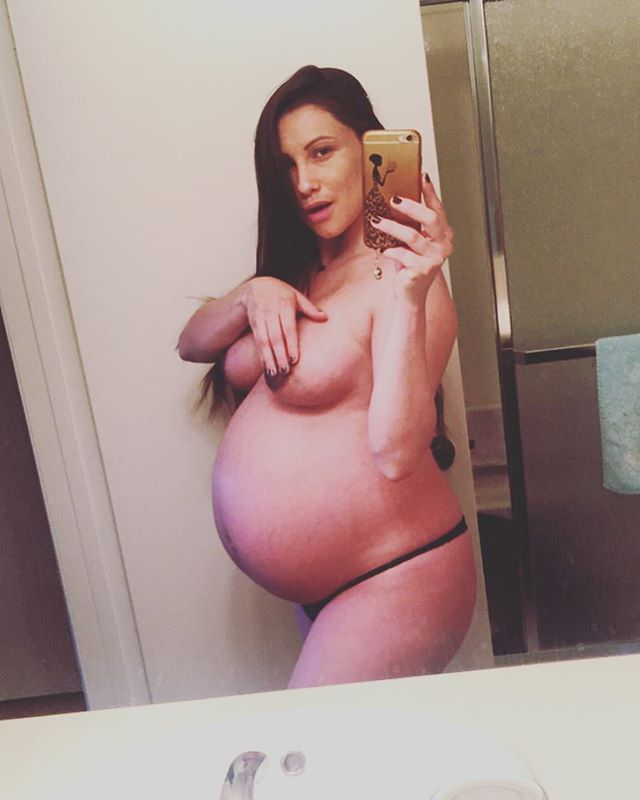 Pregnant Celeste Star Porn Photo