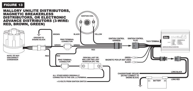 mallory ignition wiring diagram  wiring diagram ground