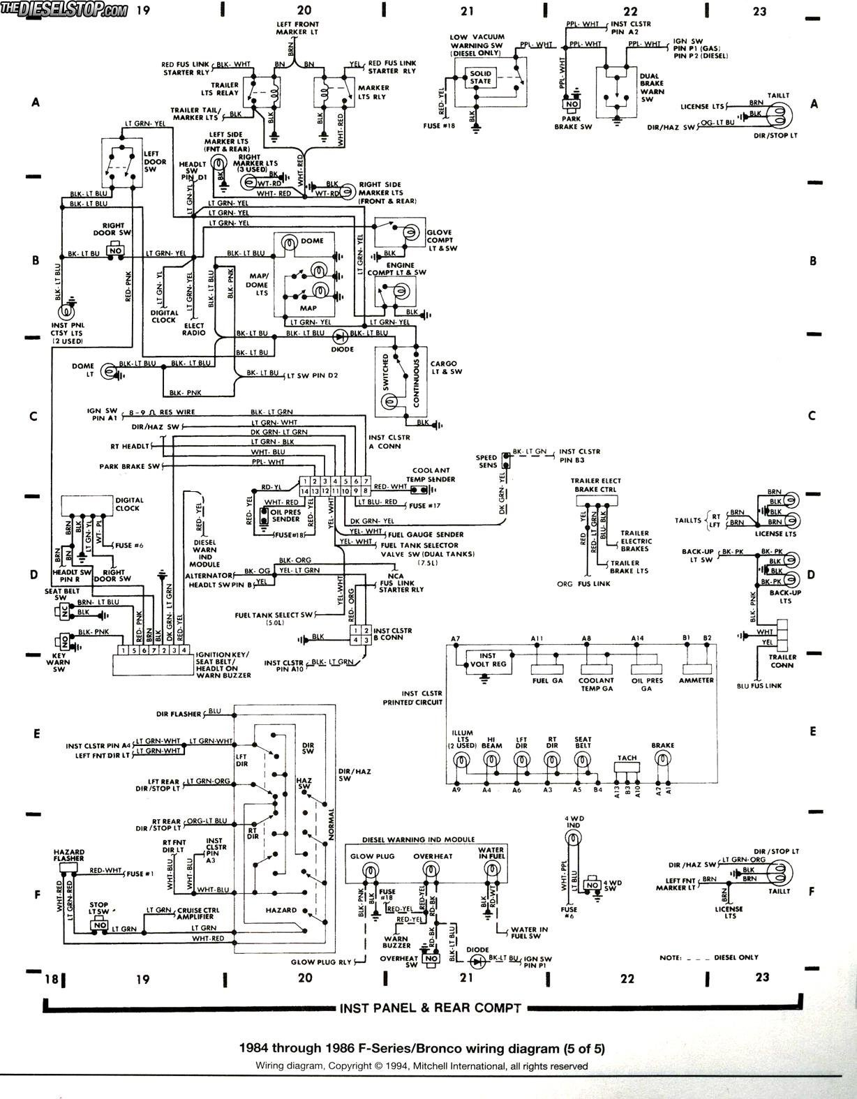 Ford F250 Starter Solenoid Wiring Diagram Database