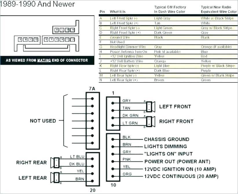 01 S10 Radio Wiring Novocom Top