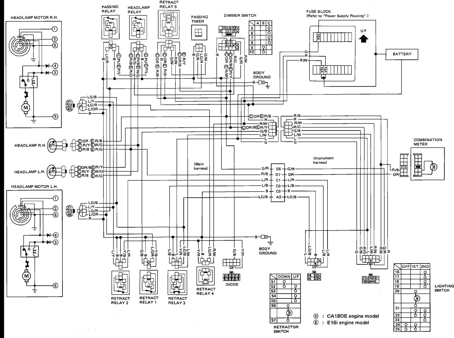 Nissan Altima Radio Wiring Diagram Images