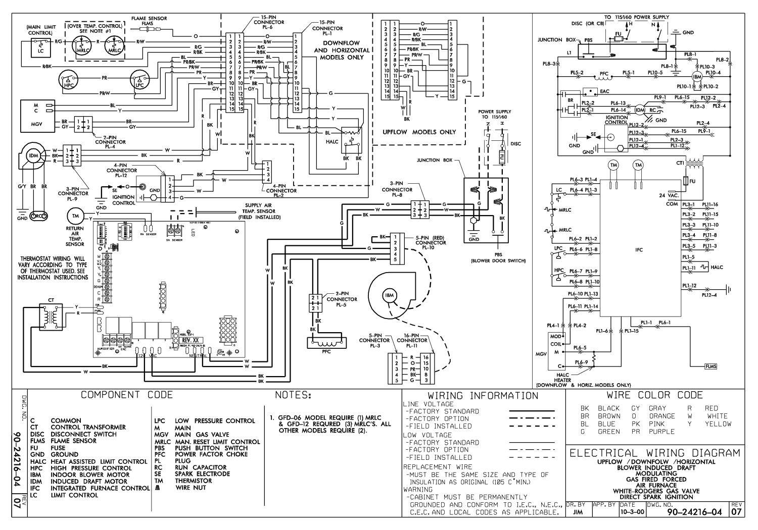 Lennox Furnace Thermostat Wiring Diagram Wiring Diagram