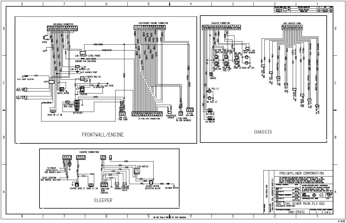 Freightliner Columbia A C Wiring Diagram