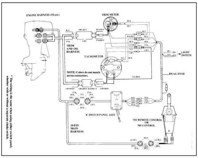 yamaha outboard wiring diagrams  wiring diagram operation