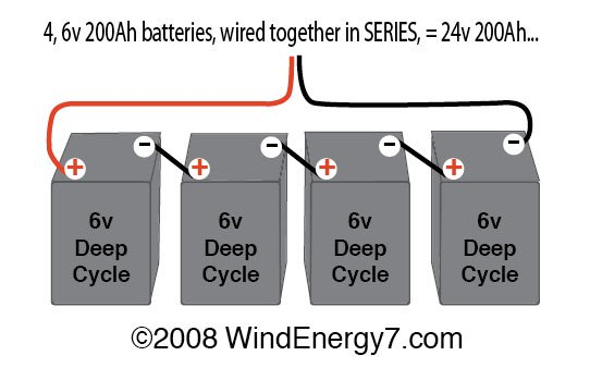 ar3591 48 volt battery bank wiring series vs parallel