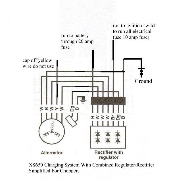 yamaha rectifier wiring 97 camry wiring diagram  begeboy
