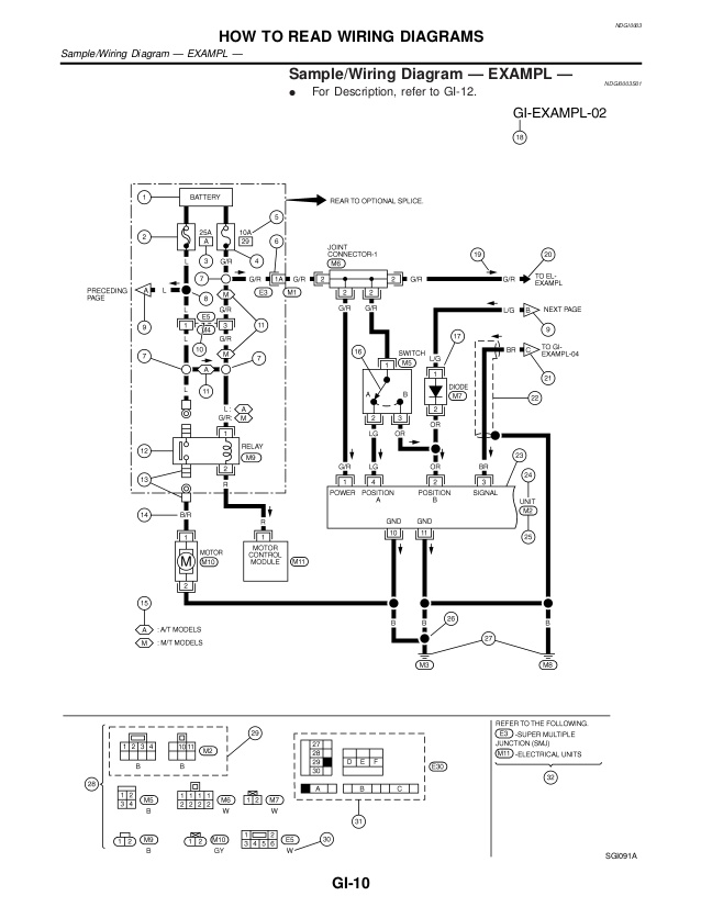 2007 nissan quest wiring diagram  wiring diagram conductor
