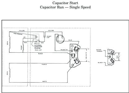 hayward motor capacitor wiring diagram  ips e pr 170
