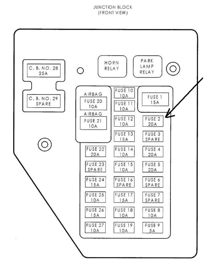 03 dodge dakota fuse box  00 s500 fuse box location for