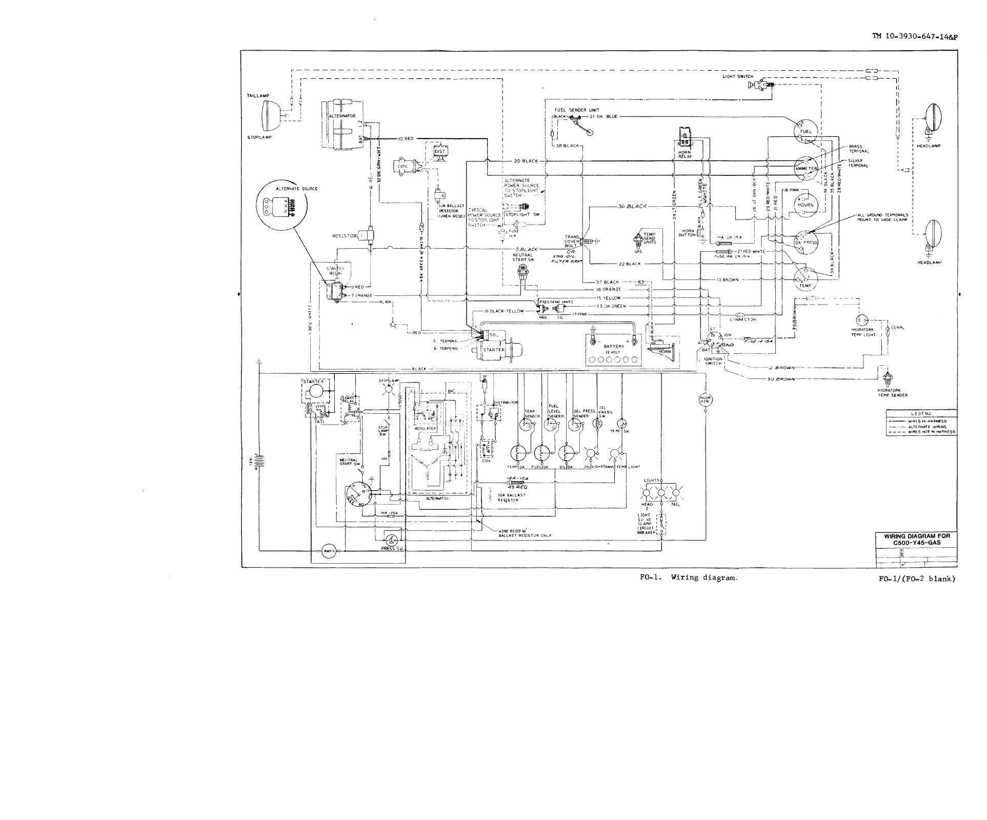 Need Wiring Diagram Clark Forklift