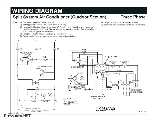 thermostat wiring diagram for nordyne a c  autometer