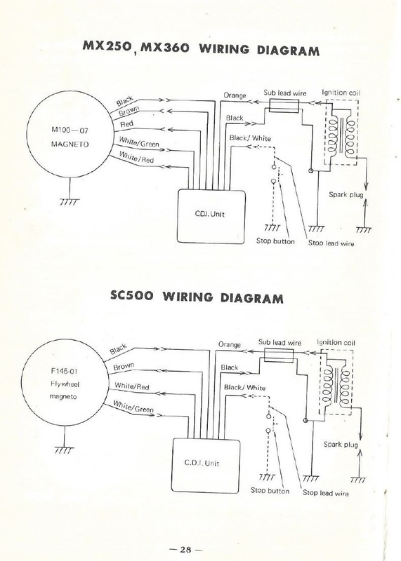 yamaha snowmobile wiring diagram 1997 mazda b4000 fuse box