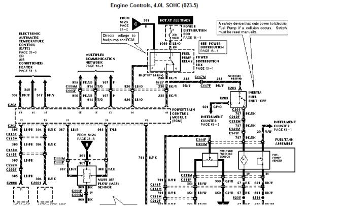 alarm wiring diagram 1998 ford explorer 1998  2003 sierra