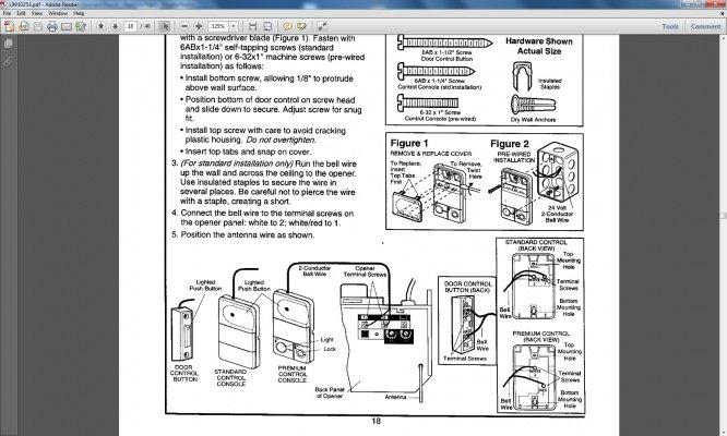 gd1589 sears garage door sensor wiring download diagram