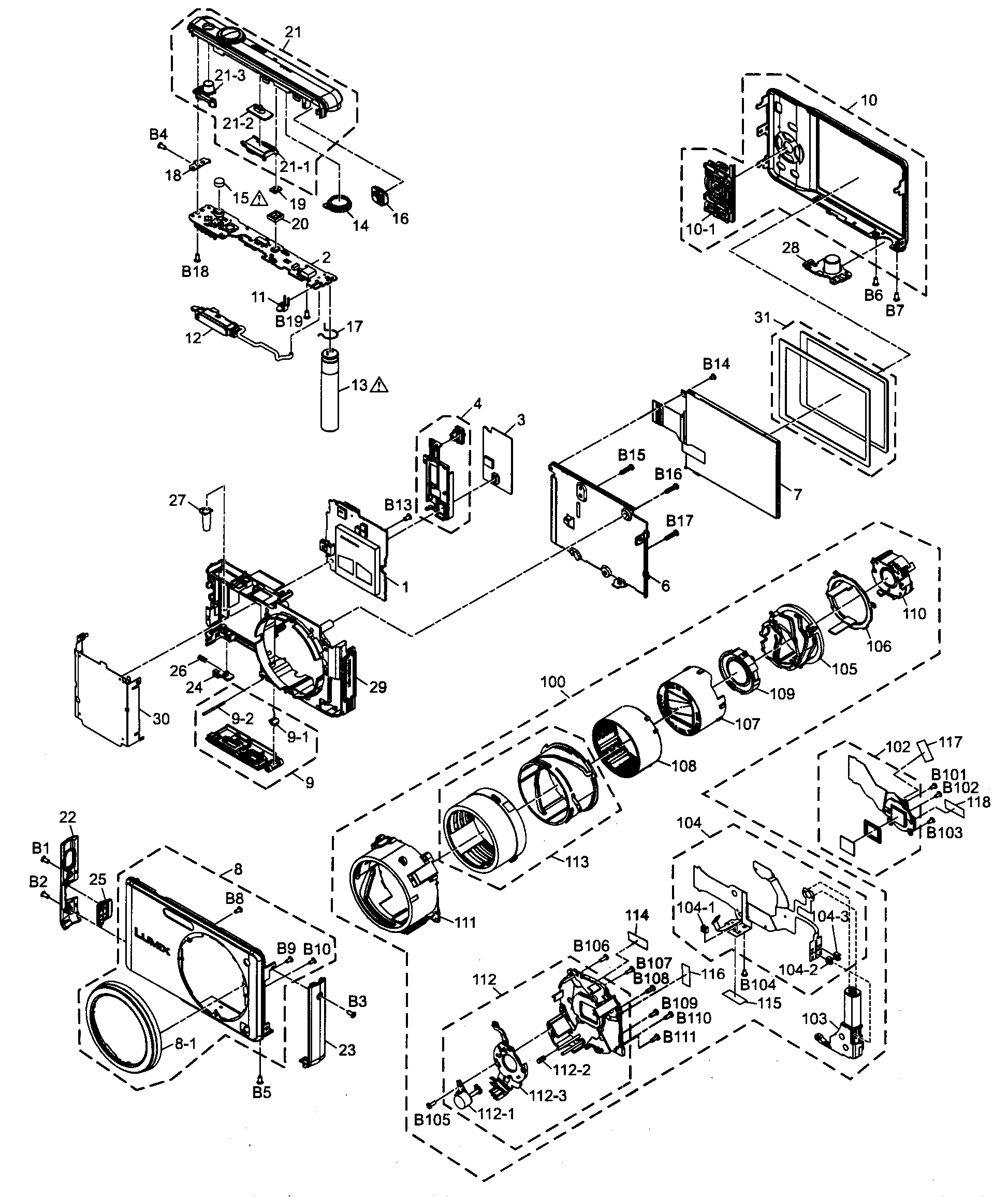 Wn Wiring Diagram Diagram And Parts List For Sharp