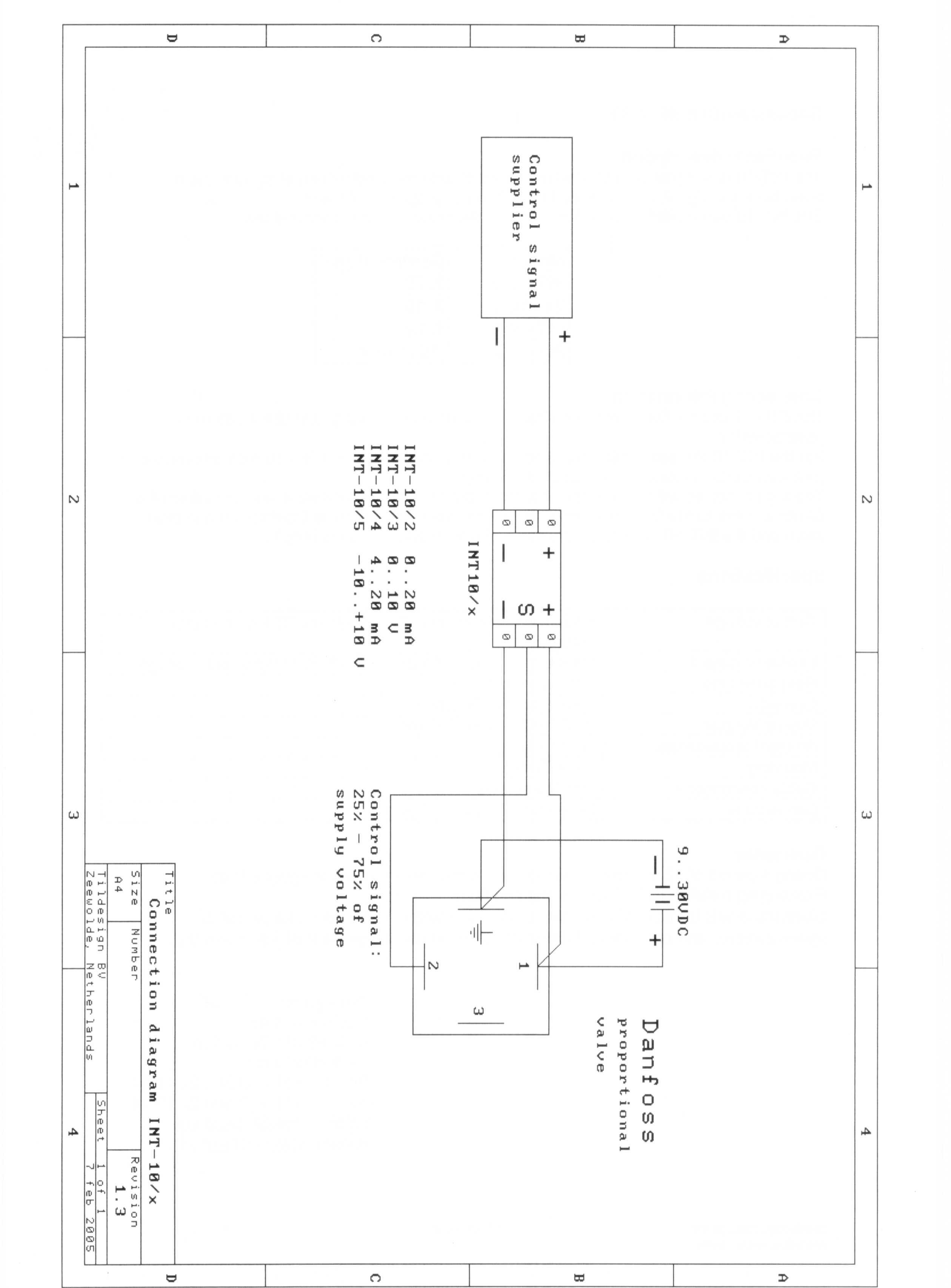 Wiring Diagram For Danfoss Motorised Valve