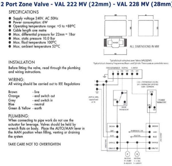 tc8244 zone valve wiring diagram on honeywell motorized