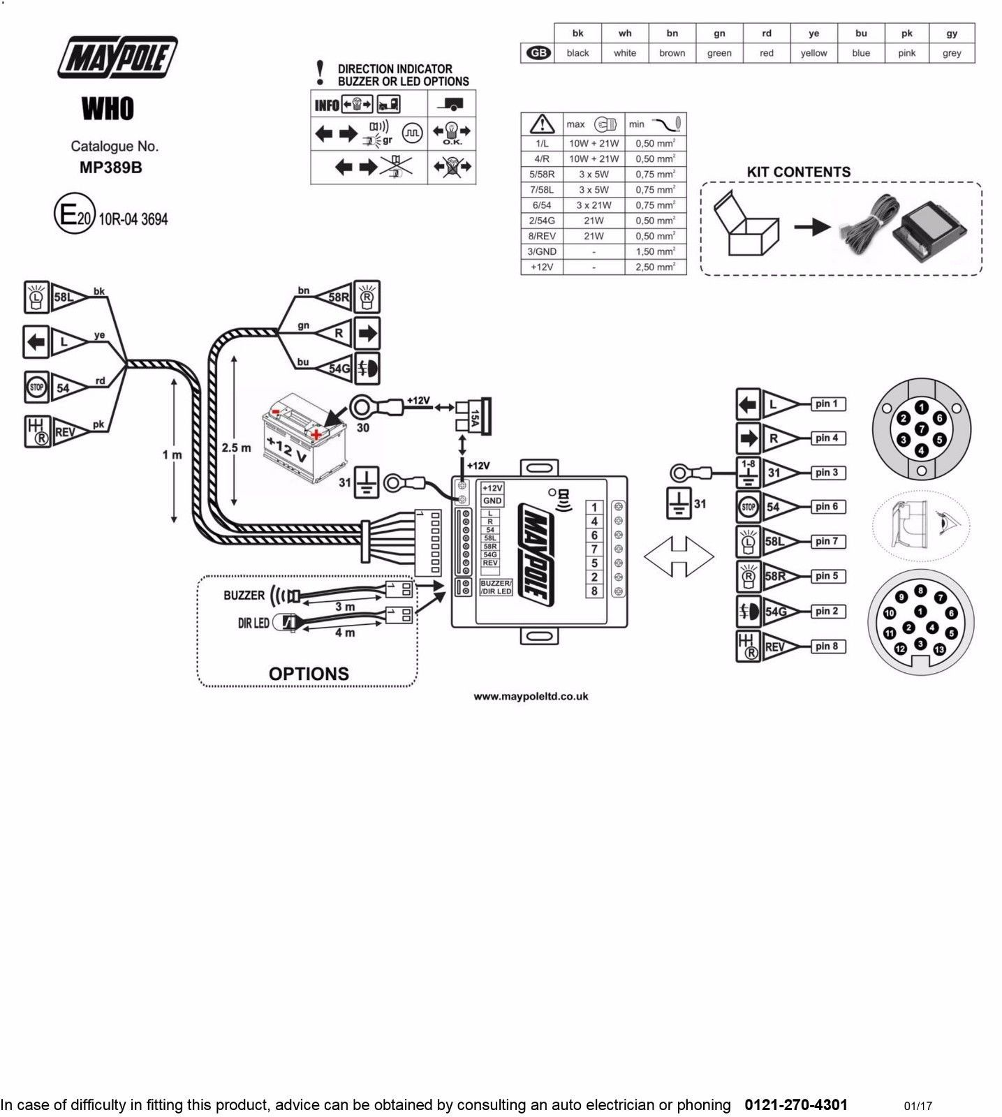 Audible Towing Relay Wiring Diagram