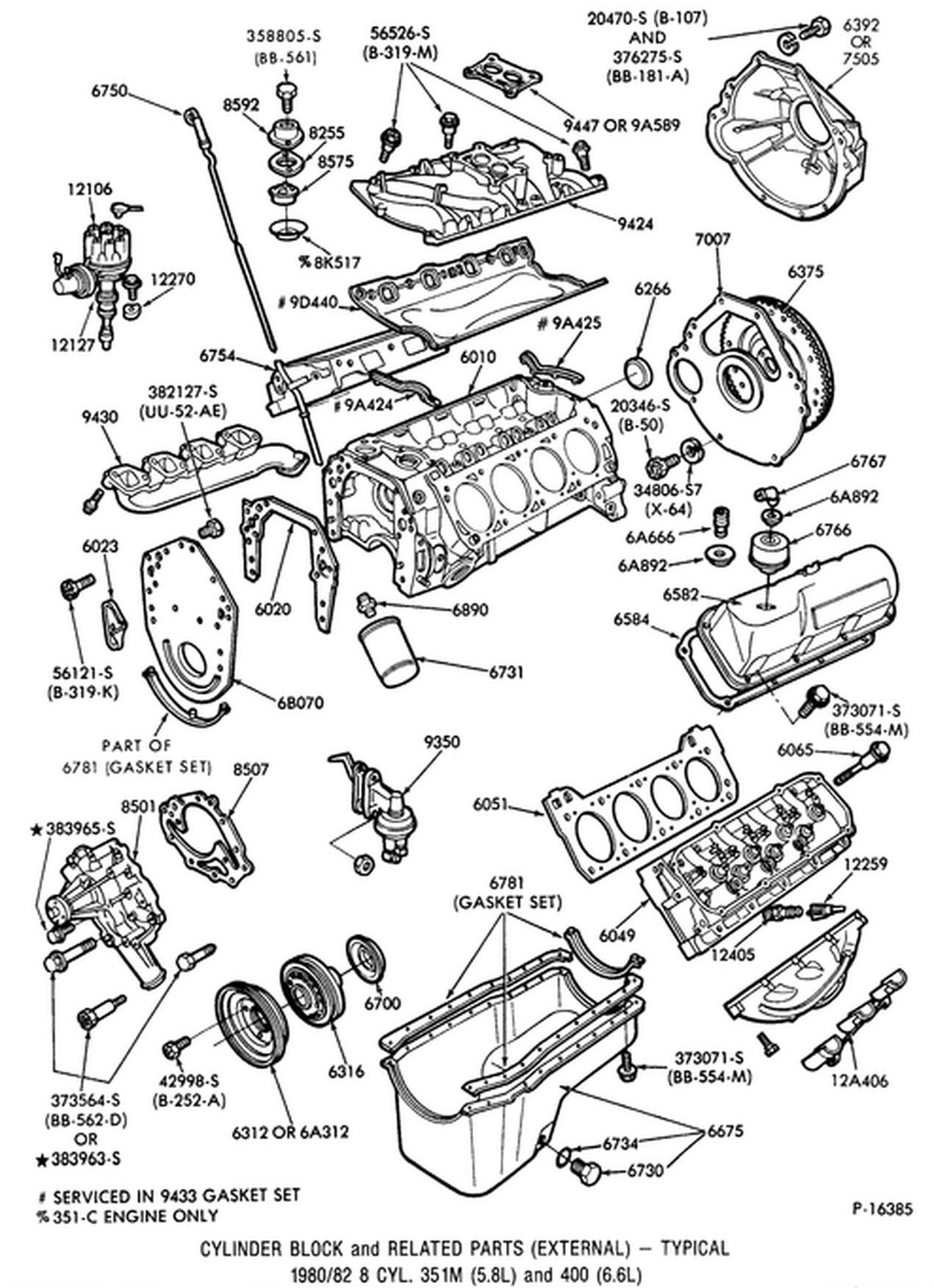 Lr Ford 400 V8 Engine Diagram Schematic Wiring