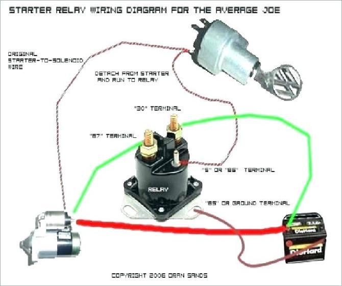 lawn mower starter solenoid wiring diagram  denali wiring