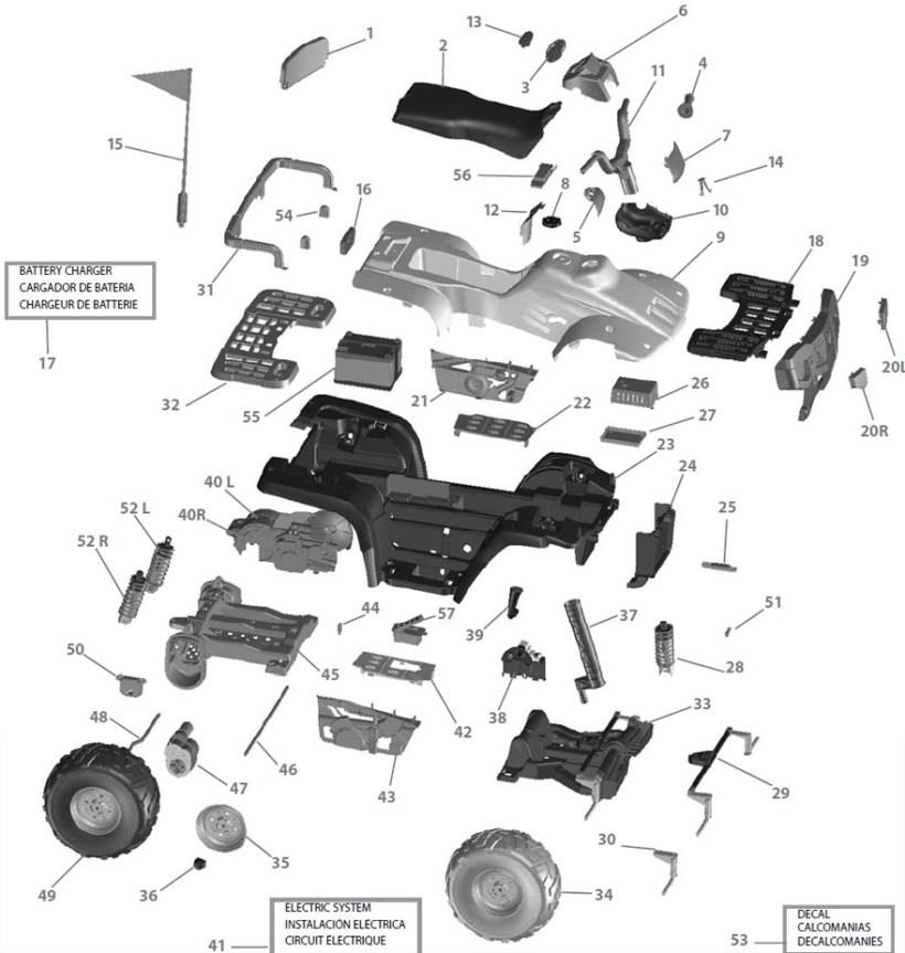 Polaris Scrambler 400 Parts Diagram