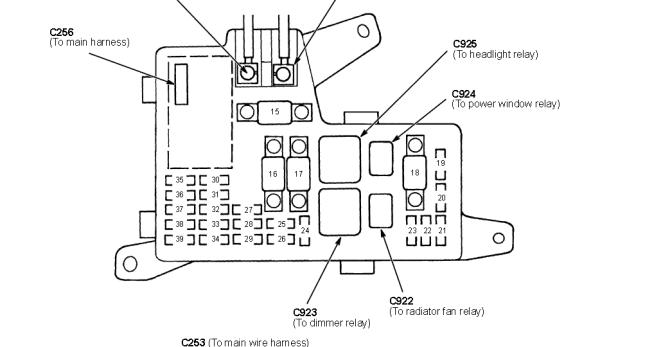 rn1153 1996 honda civic wiring diagram for windows