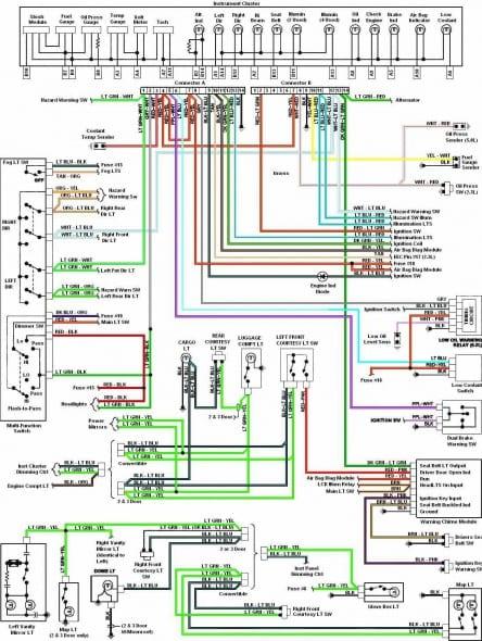 ak1017 ford ranger radio wiring diagram also 1993 ford