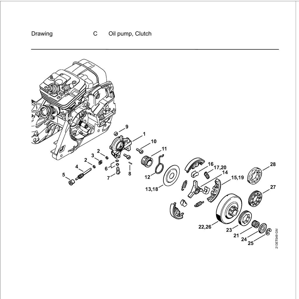 Sk Stihl Chainsaw Parts Diagram Download Diagram
