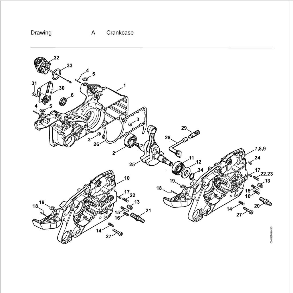 Nx Stihl 009 Chainsaw Parts Diagram Stihl Chainsaw
