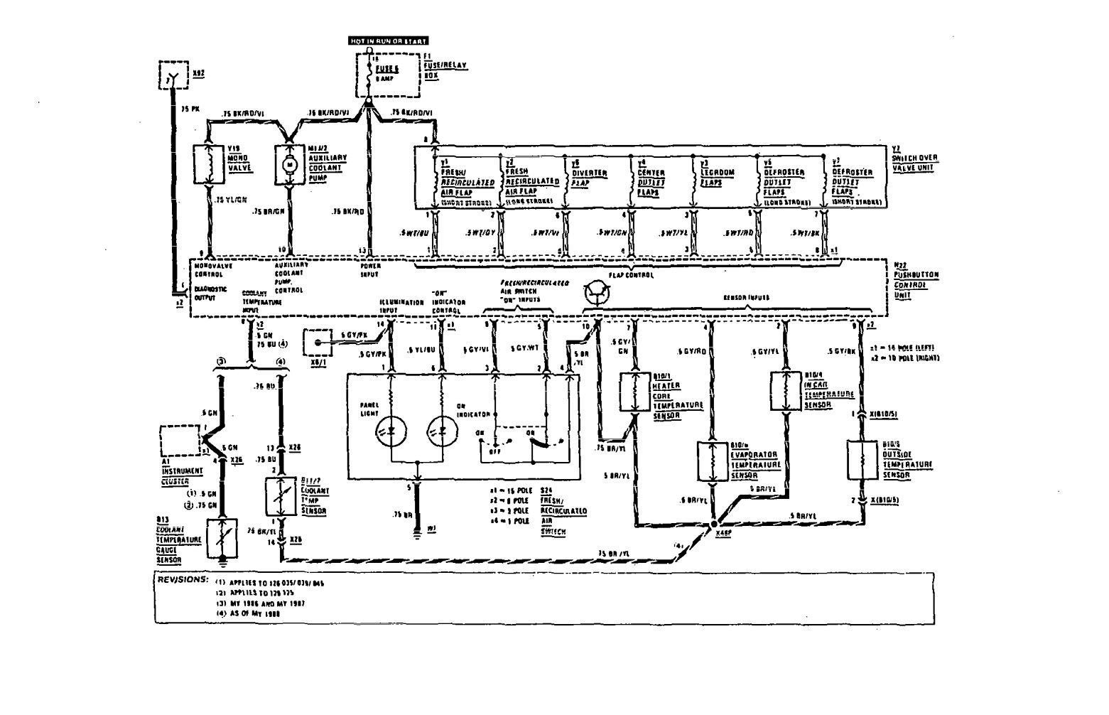Wiring Diagram Mercedes 560 Sec