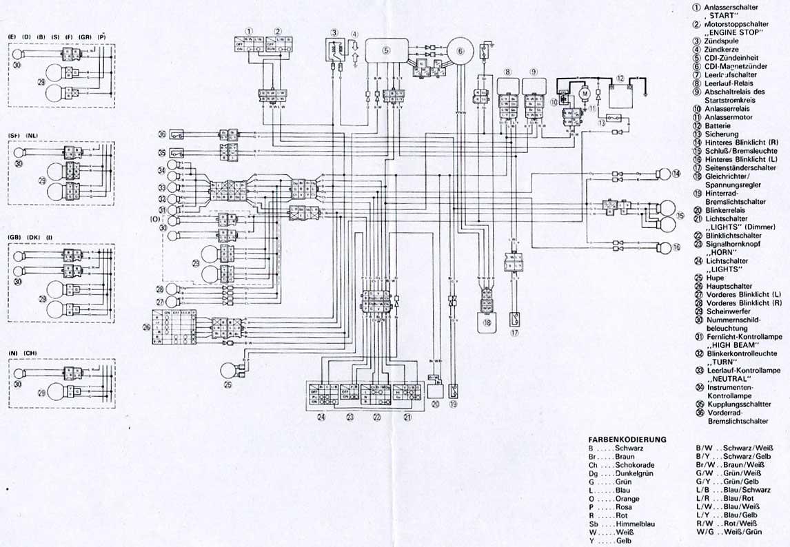 Yamaha Xt 600 Wiring Diagram