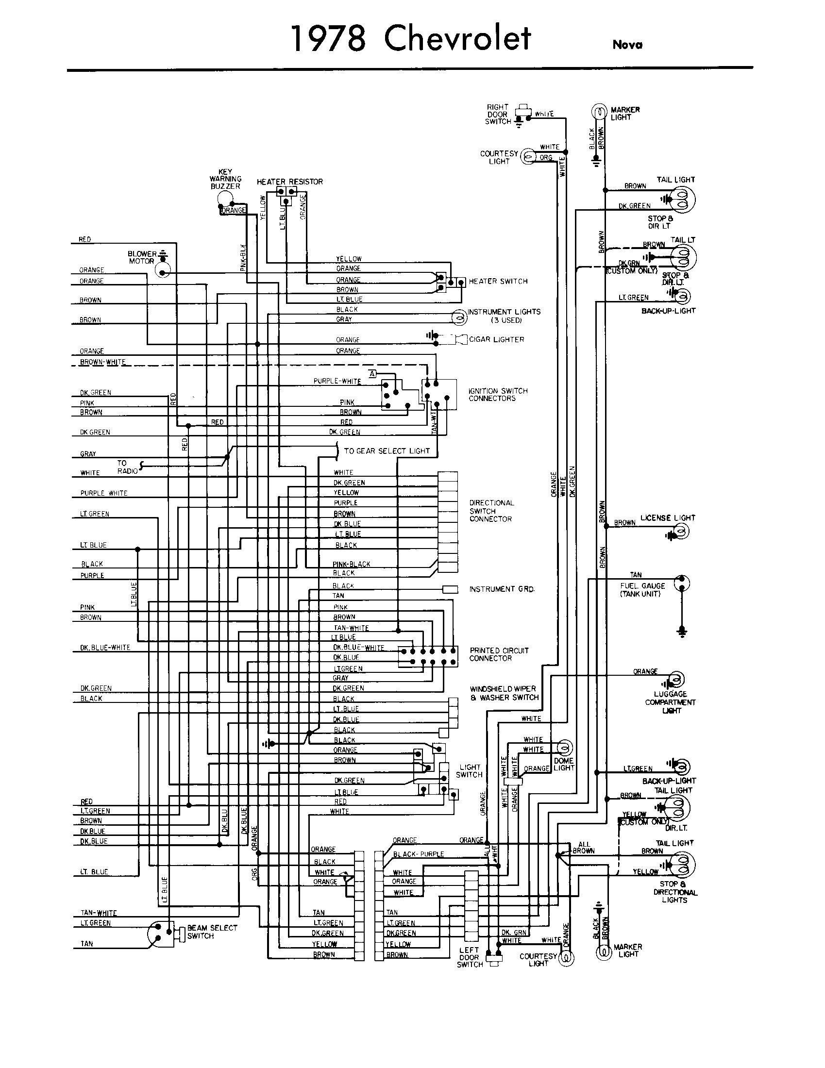 Th Chevy Chevelle Turn Signal Wiring Diagram