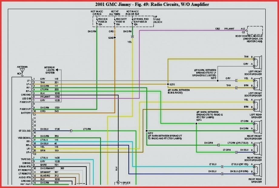 01 Gmc Yukon Radio Wiring Diagram Novocom Top
