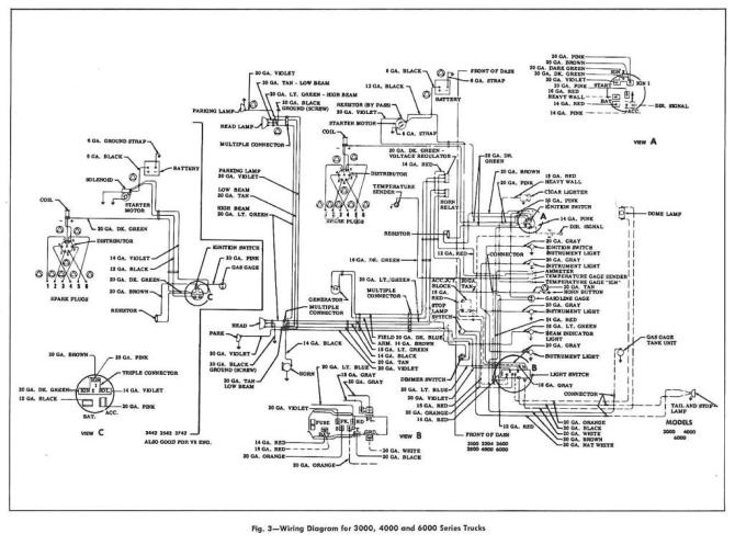 1956 ford tractor wiring diagram free download  description
