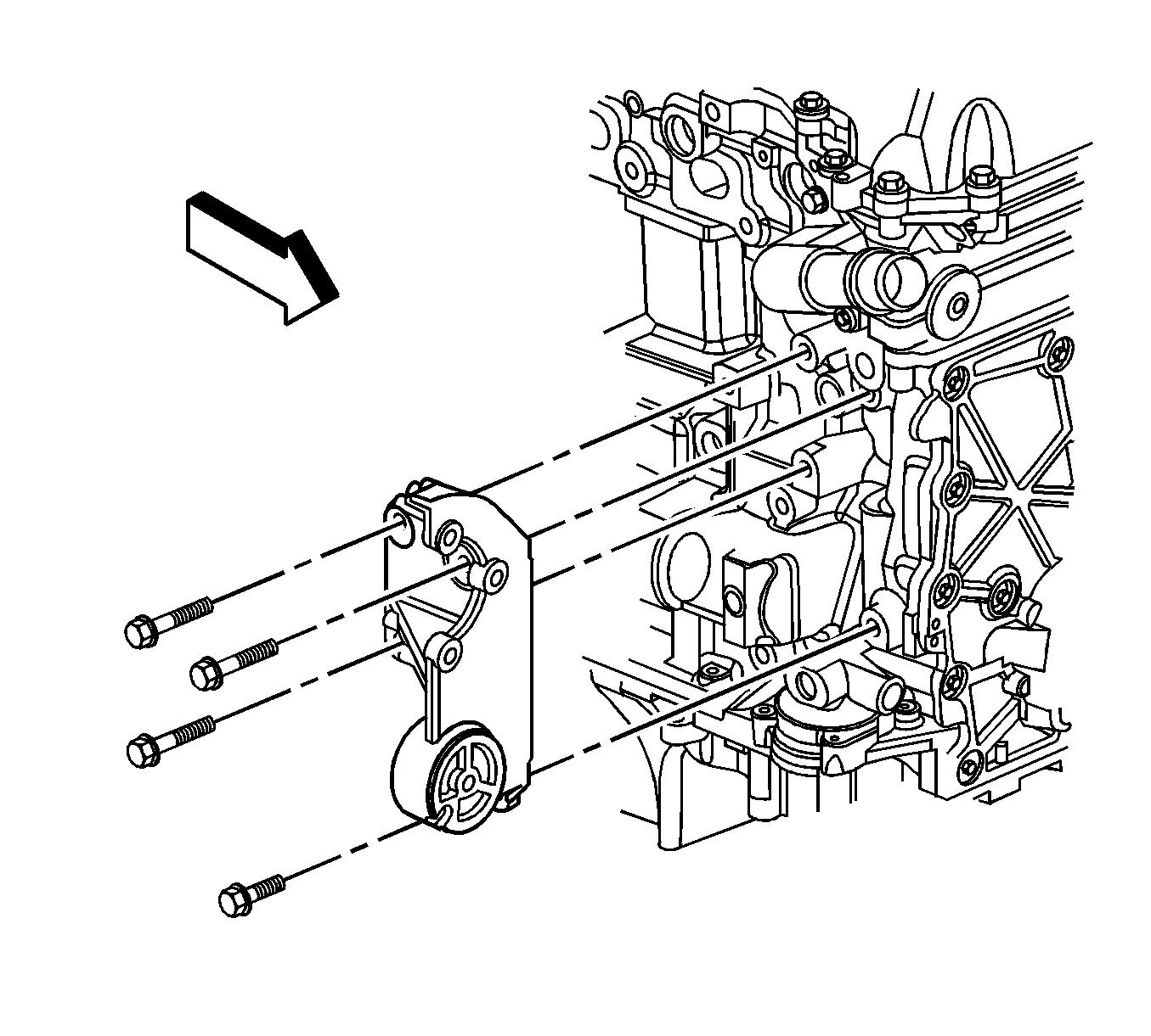 My Repair Guides Power Steering Pump Removal
