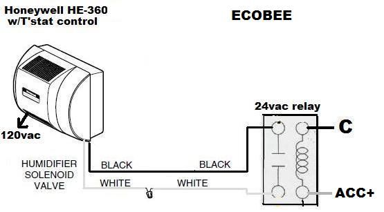 hh7509 ecobee aprilaire 600 wiring diagram download diagram