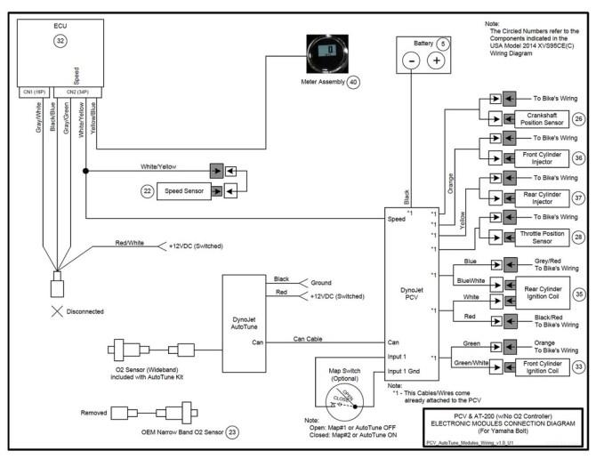 power commander 3 usb wiring diagram  schematic wiring