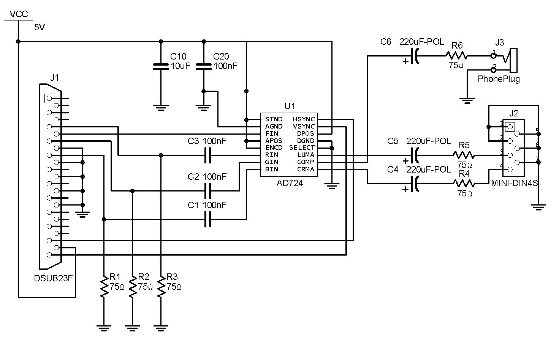Pinout Hdmi To Vga Cable Wiring Diagram