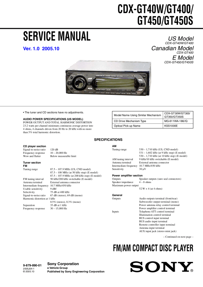 sony cdx gt30w wiring diagram  see for 2006 ford f 150 fuse