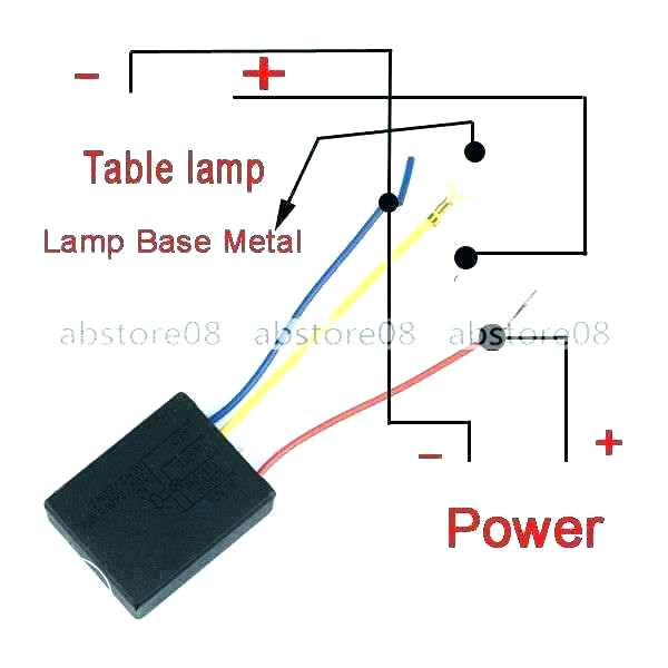 km0669 touch lamp sensor wiring diagram schematic wiring