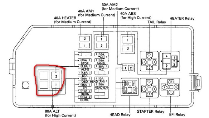 08 tacoma fuse box diagram  chevrolet suburban wiring