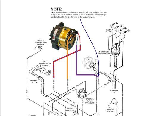 alternator wiring diagram mercruiser  description wiring