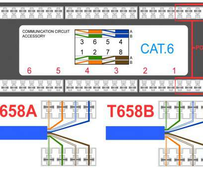 vb1663 wiring cat5 to a rj45 wall plate wiring diagram