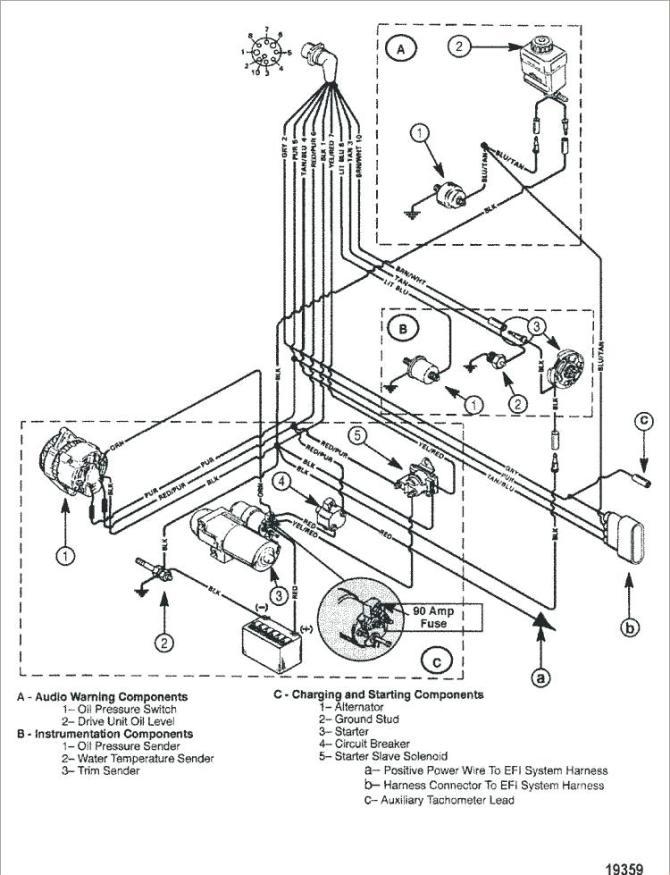 mercruiser 5 7 wiring diagram  co wiring harness
