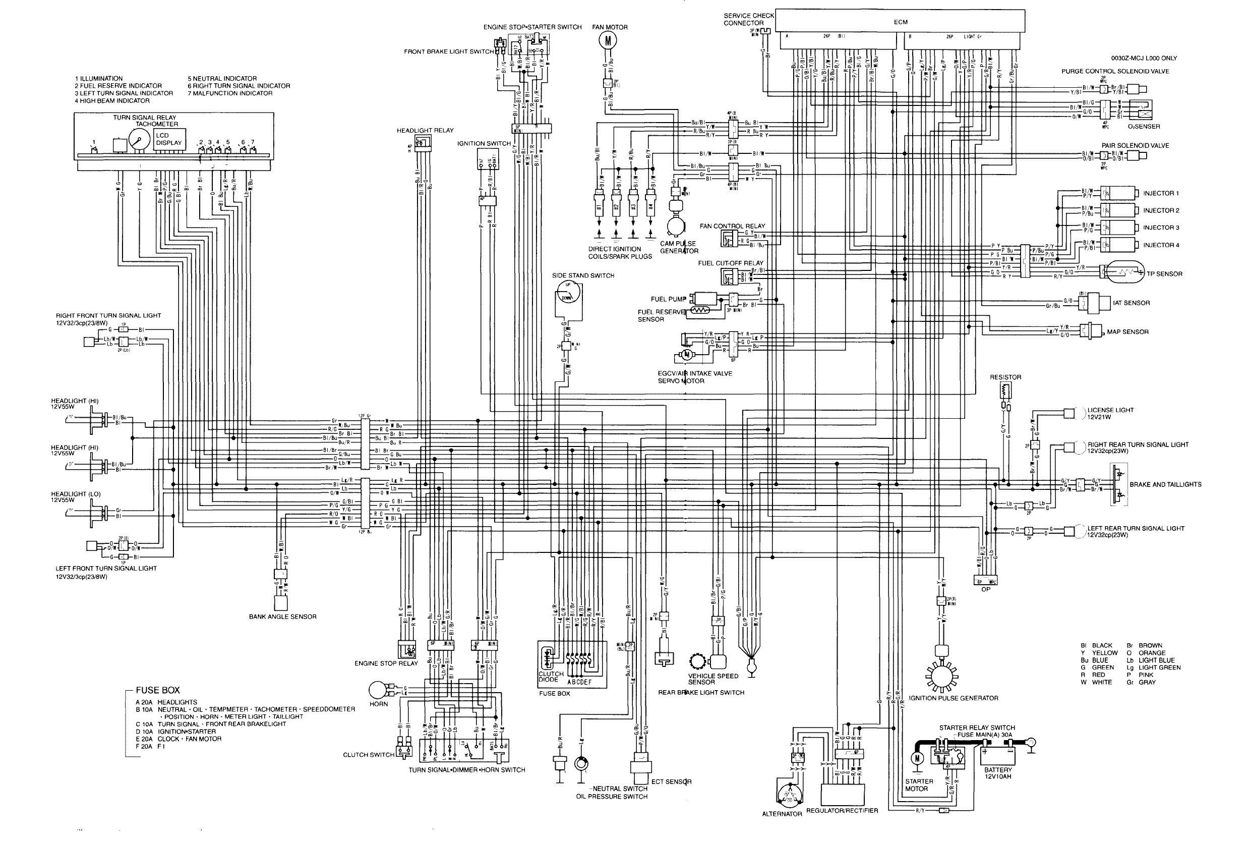 Honda Cbr 600 Wiring Diagram Pics