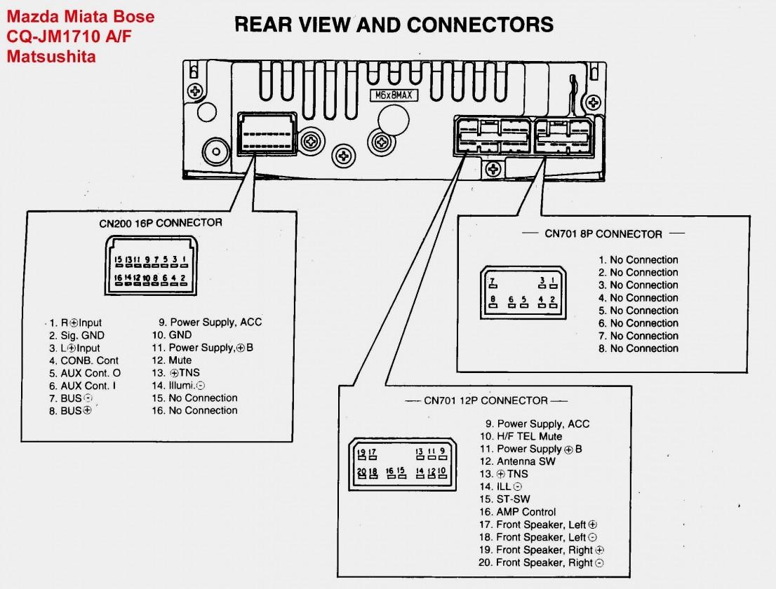 Wiring Diagram Pioneer Deh P
