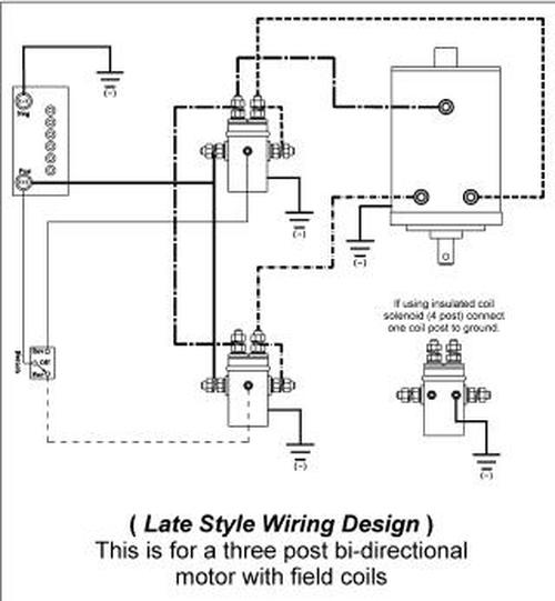 tt5952 4 post winch wiring diagram download diagram