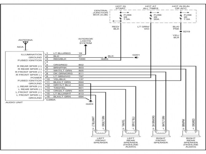 93 ford f 150 stereo wiring  description wiring diagrams