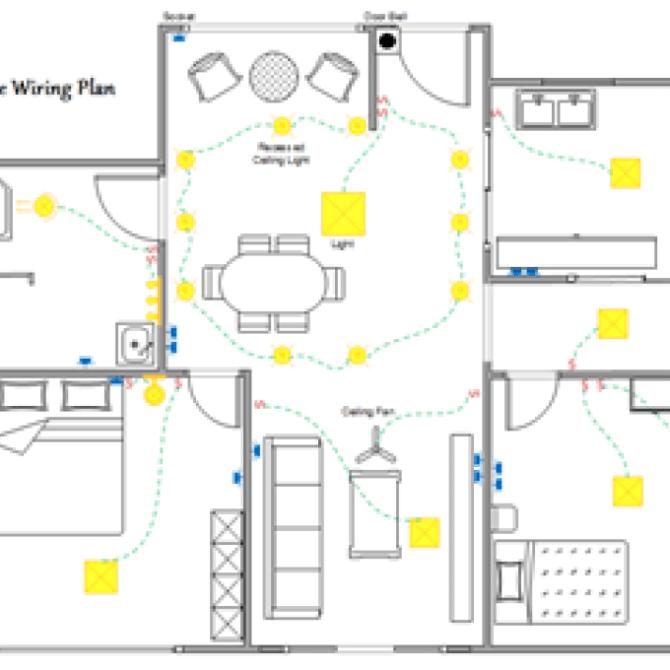 house floor plan electrical wiring diagram  rockford