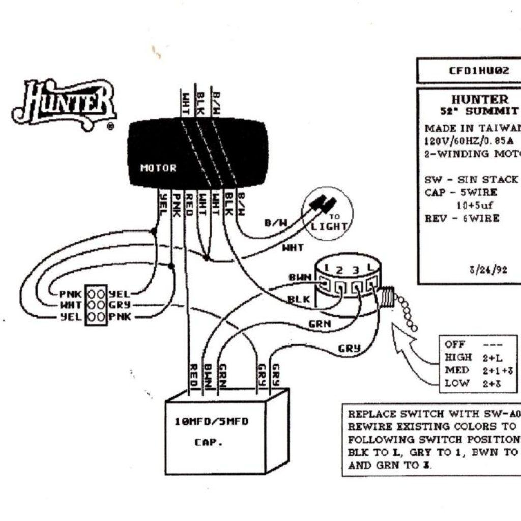 Hampton Bay Ceiling Fan Reverse Switch Wiring Diagram